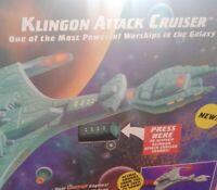 Playmates 1993 Star Trek The Next Generation  KLINGON ATTACK CRUISER MIB