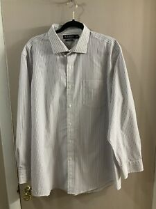 Lauren Ralph Lauren Dress Shirt size Slim Fit  stretch non iron 18 34/35