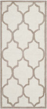 Safavieh Cambridge IVORY / BEIGE Wool Runner 2' 6 x 6' - CAM134P-26