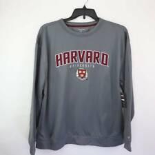Champion Unisex Adult Sweatshirt Gray Harvard University Long Sleeves XL New