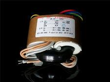 High-End 30W / 30VA R-Core Transformer PRI 115V /115V 50/60Hz SEC 9V+ 9V