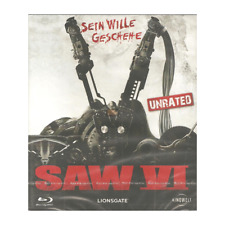 Blu Ray SAW VI 6 NEU OVP UNCUT FSK18 Tobin Bell Sein Wille geschehe