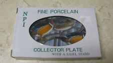 fine porcelain collector plate, new, wood ducks scene, free shipping!