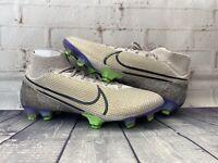 Nike Mercurial Superfly 7 Elite FG Desert Sand Soccer AQ4174-005 Men's Size 10
