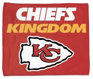 "Kansas City Chiefs Super Bowl Champs Mahomes Chiefs Kingdom Rally Towel 15""x18"""