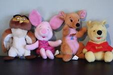 Vintage Disney Winnie the Pooh Bear Plush  ArcoToys Mattel Owl Piglet Kanga Lot
