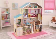 KidKraft Majestic Mansion Dolls House - Kids Dollshouse Furniture & Acc 4 Levels