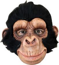 Morris Costumes Chimp George Latex Mask. Tb26309