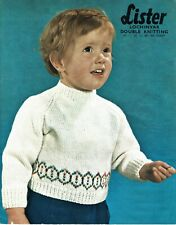 Easy baby Sweater, Jumper, Pullover, Knitting pattern in DK, Infant Boy or girl