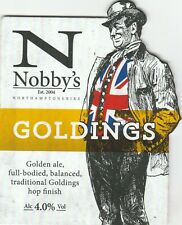 NOBBY'S BREWERY - GOLDINGS - PUMP CLIP FRONT