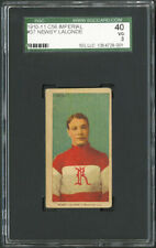 1910 C56 Imperial Tobacco #37 Newsy Lalonde SGC 40 RARE.  5 KNOWN.  #1 GRADED