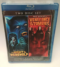 The Night of the Werewolf / Vengeance of Zombies (Blu-ray Disc) OOP NEW!