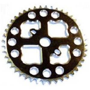 "BP GENERAL-CHAINWHEEL CNC, Alloy, For BMX, 1/2"" x 1/8"" x 44T, BLACK(2035)"