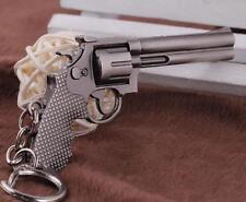 ANACONDA Revolver Weapon Mini Gun Model Metal Keyring Keychain Key Ring Chain *