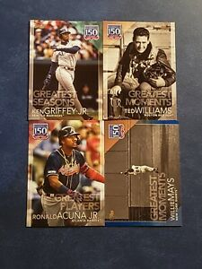2019 Topps Series 1 2 Update 150 Years of Professional Baseball Inserts You Pick