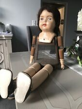 Antique RARE Wood And Composition Babs Doll!
