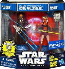 Star Wars Plo Koon & Ahsoka Action Figure DVD 2-Pack #1 [Rising Malevolence]