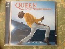 """Queen """"Live At Wembley Stadium""""  2 Cd"""