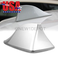 US SUV Roof Radio FM/AM Shark Fin Antenna Aerial Silver For BMW 325i X3 X5 ND