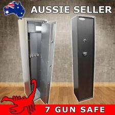 7 GUN KEY LOCK GUN SAFE, RIFLE, SHOTGUN SAFE CAT A & B FIREARMS - SCORPION