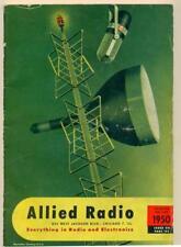 VINTAGE 1950 ALLIED RADIO CATALOG Chicago ILLINOIS EVERYTHING RADIO & ELECTRONIC