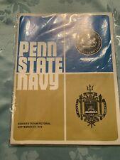 Vintage Football Program Penn State Navy September 1972 Beaver Stadium