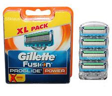 4x Stück Gillette Fusion ProGlide Power Klingen Gillete Gilette Gilete