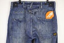 Herren G Star Jeans Storm Elwood Straight Button Fly W32 L32 Cinch-Denim P20