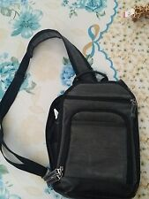 gray woman backpack