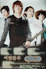 "CN BLUE ""GROUP, GUITAR & BAND INFO"" ASIAN POSTER - Korean Boy Band,  K-Pop Music"
