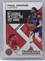 2019-20 Panini Chronicles #50 Paul George Los Angeles Clippers