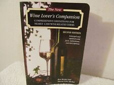 WINE LOVERS COMPANION  2ND ED. COMPREHENSIVE DEFINITIONS FOR NEARLY 4000 WINES