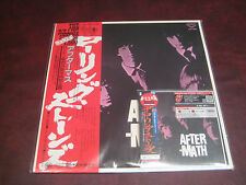 ROLLING STONES AFTERMATH RARE ANALOG JAPAN LONDON 25TH ANNIVERSARY MINT + OBI CD