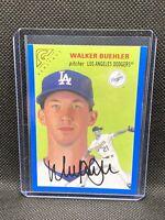 Walker Buehler Los Angeles Dodgers 2020 Topps Gallery Heritage Card Blue /99 ⚾️