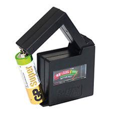 Batterietester Batterie Prüfer Akku Tester für AA-AAA-C-D-N 9V Block Knopfzellen