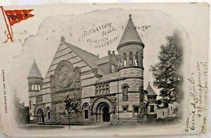 1906 Postcard: Princeton University Alexander Hall