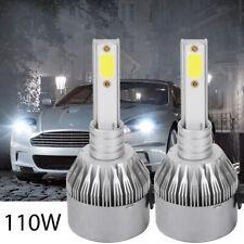 2X H1 CREE LED 110W Scheinwerfer COB Nachrüstsatz Birnen Leuchte Lampen DE