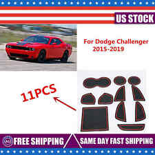 Fit For Dodge Challenger 2015-2019 Custom Cup, Door, Console Liner Accessories