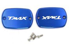 COPPIA TAPPI COPERTURE SERBATOIO FRENO TMAX 500 T MAX 530 BLU