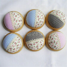 1pc Home DIY Craft Lattice Floral Lace Sewing Needle Pin Holder Pincushions Gift