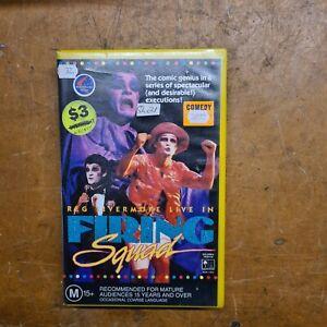 Reg Livermore Firing Squad Australian PAL VHS CIC Video  Ex-RENTAL