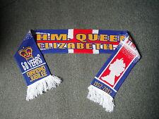Diamond Jubilee H.M. QUEEN ELIZABETH II 1952 - 2012 Scarf