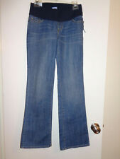 NWT Sz 4 GAP Maternity Jeans City Fit Bootcut Demi Panel
