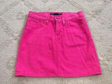 Ralph Lauren Sport Polo womens mini skirt waist 25 (0-2) Pink Denim