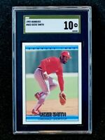 1992 Donruss #432 Ozzie Smith SGC 10 Gold Label Pop 1