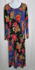 CAROLE LITTLE Saint Tropez West 2 PC German Fabric Blouse Top Skirt Set Size 16?