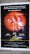 LE SYNDROME CHINOIS ! affiche cinema 1979 u.s