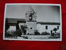 CARMEL BY-THE-SEA CA VINTAGE RPPC VIEW MISSION