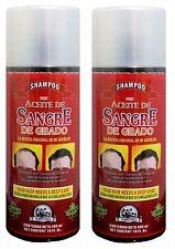2 Shampoo BLOOD Of The DRAGON Aceite De Sangre De GRADO Regrow & Strengthen Hair