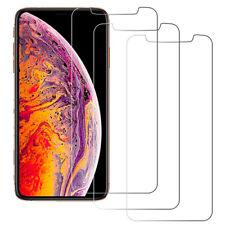 3x Panzerfolie für iPhone XS iPhone X Panzer Display Echt Glasfolie Schutzglas